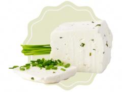 Kozí sýr přírodní s pažitkou