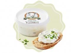 Kozí sýr čerstvý roztíratelný s pažitkou