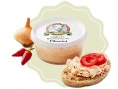 Kozí sýr čerstvý roztíratelný pikantní s paprikou