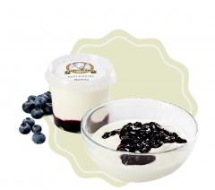 Kozí jogurt ochucený - borůvka