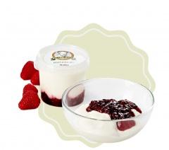 Kozí jogurt ochucený - malina